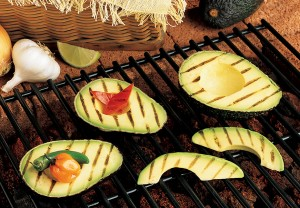 grilled avocados